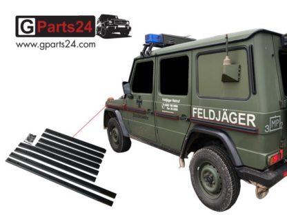 G-Klasse Scheuerleisten w460 Schutzleisten w461 Stoßleisten G-Professional Edition PUR Wolf Puch A4606900962 A4616800074 A4606901562 A4606900162