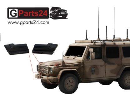 G-Klasse Stoßstangenecken vorne Wolf SSA Enok Militär A4615251138 A4615251038